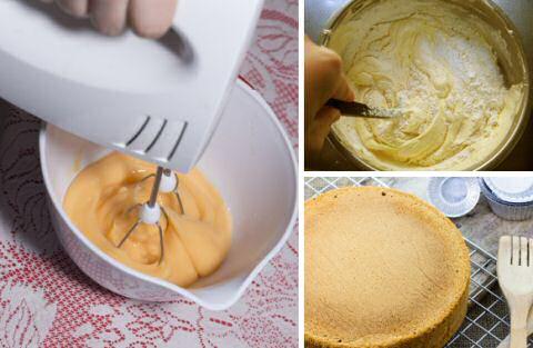Stap voor stap recept om luchtige biscuitdeeg te maken