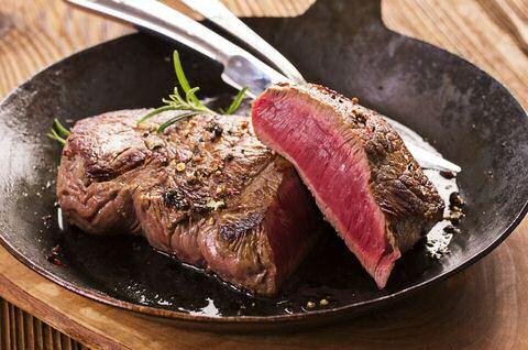 Biefstuk in de pan