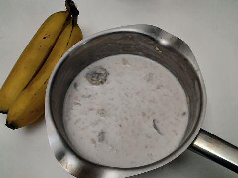 Havermoutpap maken met banaan