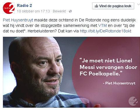 Piet Hyusentruyt spreekt over Lionel Messi en FC Poelkapelle