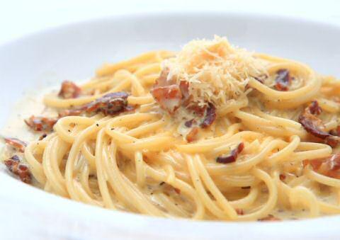 macaroni carbonara maken