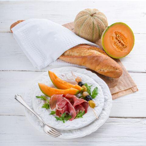 Carpaccio recept met meloen