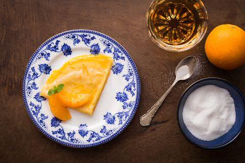 Crepe Suzette Recept
