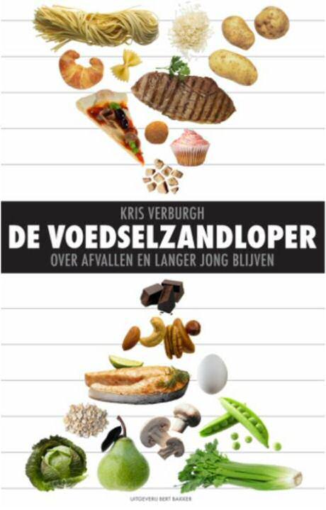 De voedselzandloper van Kris Verburgh laat zien hoe je graan producten en vlees in je voeding kan vervangen met groenten en fruit