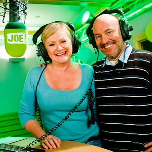 Piet Huysentruyt op Radio Joe-FM met Leen Demaré