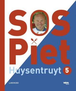 Voorblad SOS Piet (Huysentruyt) 5, uitgeverij Lannoo