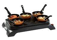 Domo elektrische wok party en pannenkoekjes
