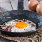 Spek met eieren