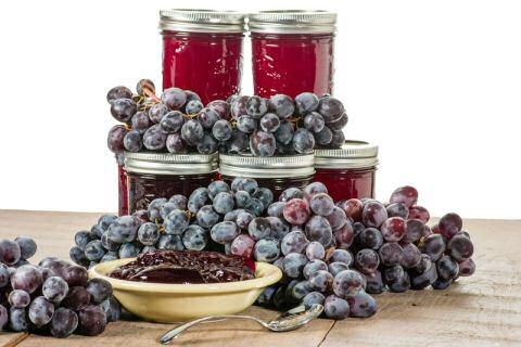Druivenconfituur