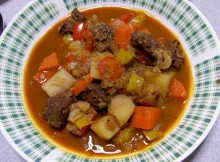 Goulash sos piet