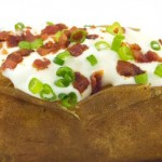 Gevulde aardappel