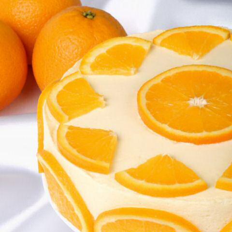 Sinaasappel bavarois