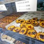 Portugese taartjes, verse spaghettisaus en gerookte zalm