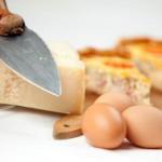 SOS Piet: eierkoek, hertenragout en kaas quiche