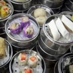 SOS Piet: dim sum, kippenstoofvlees, quiche met zalm