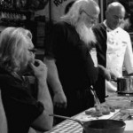 SOS Piet: tagliatelle met zalm en spinazie, varkensneus en varkenspoot