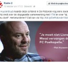 Piet Huysentruyt Lionel Messi