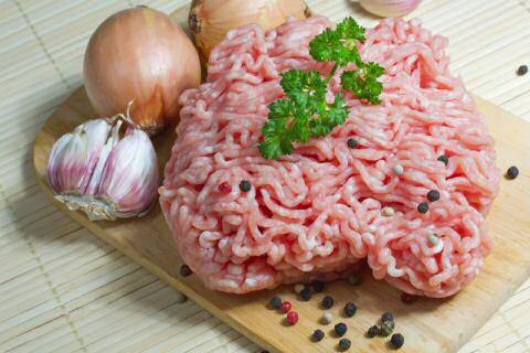 Ingrediënten om zelf hamburger maken